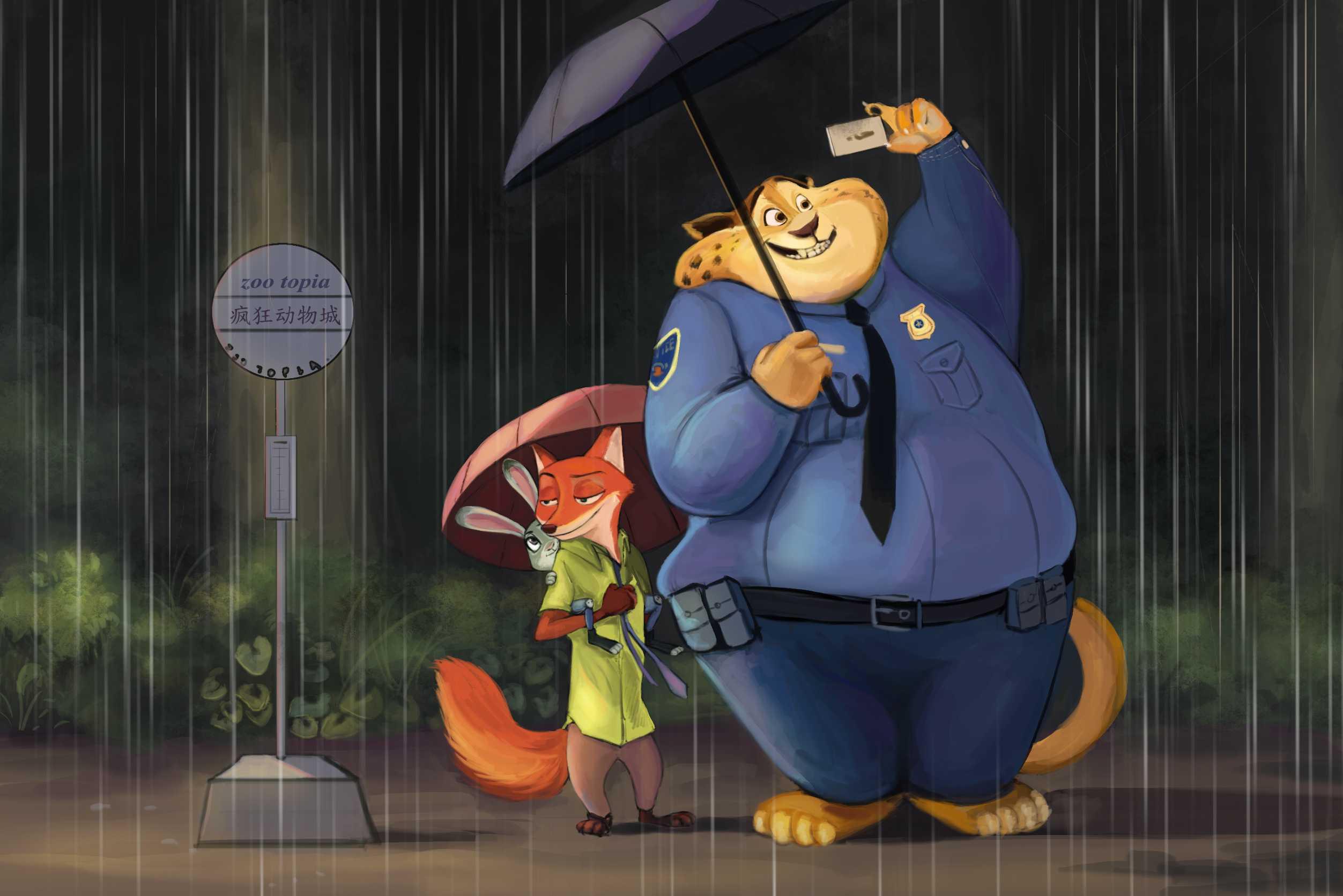 龙猫—疯狂动物城 126 2016-03-16 发布 分类: 同人 标签: 疯狂动物