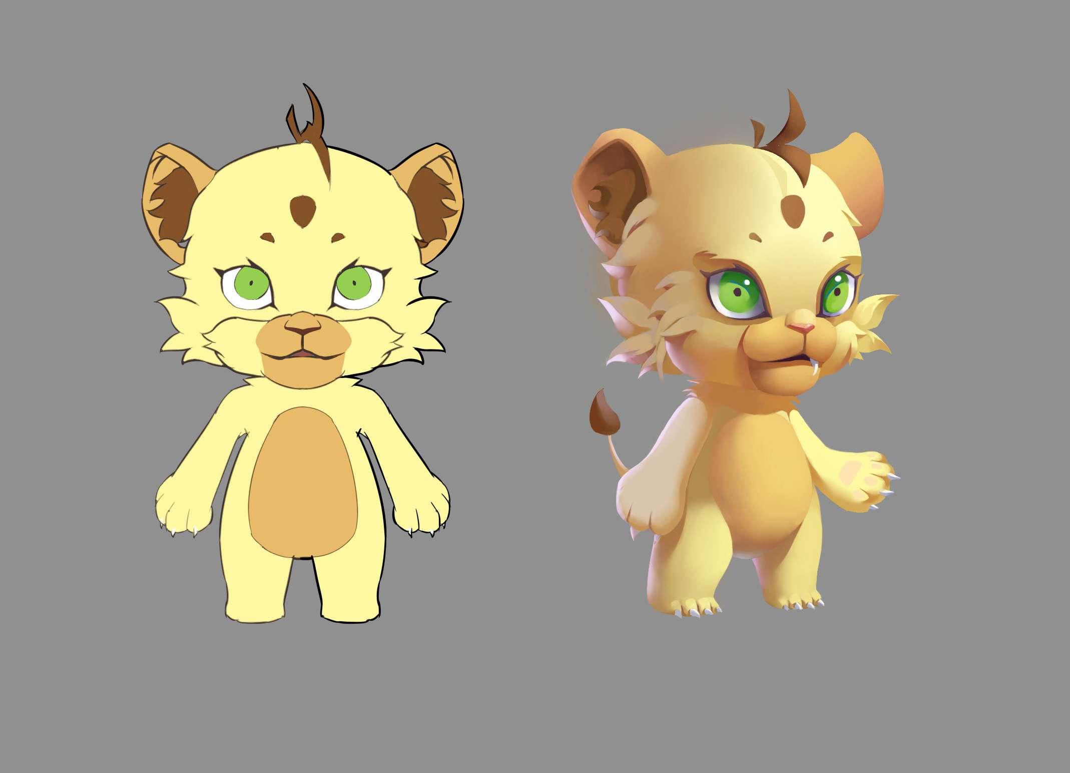 最后一只小狮子- - 38 1 天前 发布 分类: 原创 标签: q版  qzone